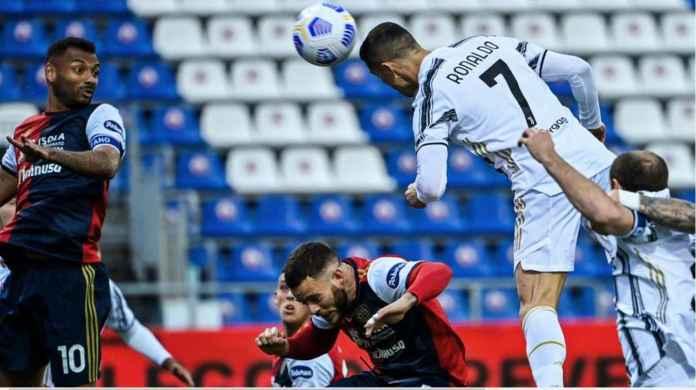 Ronaldo goal versus Cagliari