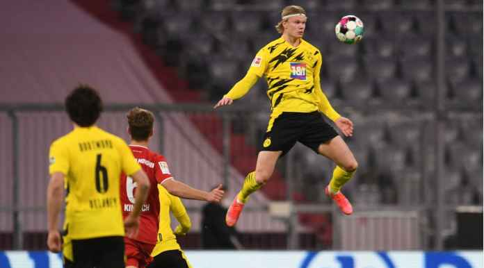 Gol 1 Menit 14 Detik, Erling Haaland jadi Mimpi Buruk Bagi Bayern Munchen