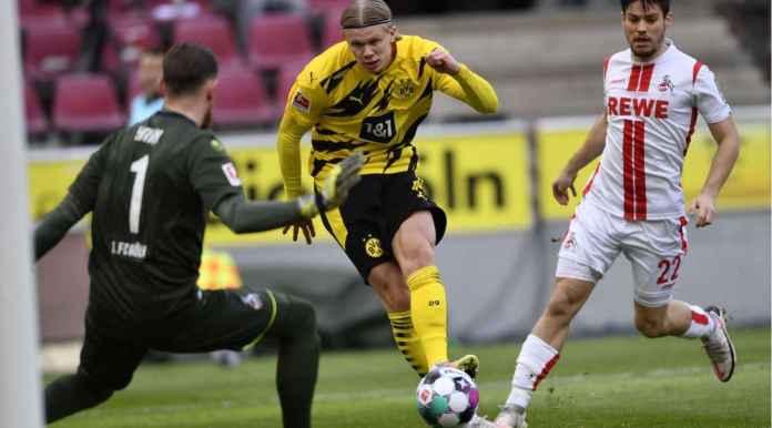 Goal Erling Haaland versus Koln