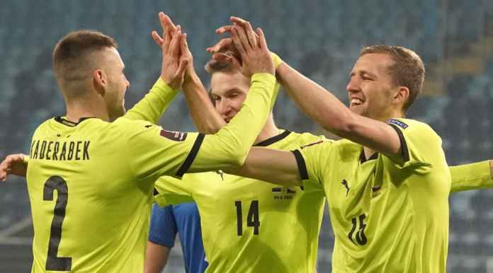 Estonia vs Ceko, kualifikasi Piala Dunia