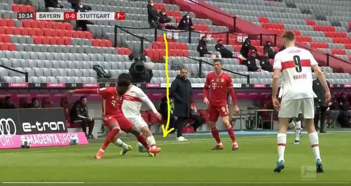 Kartu merah Alphonso Davies, Bayern Munchen