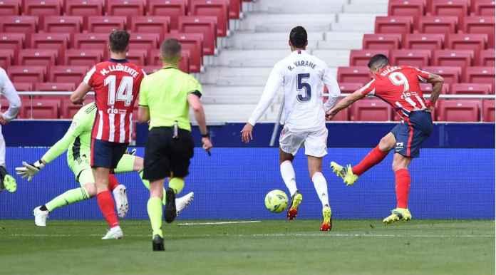 Hasil Liga Spanyol: Gol Luis Suarez Gagal Bantu Atletico Balaskan Dendam Pada Los Blancos