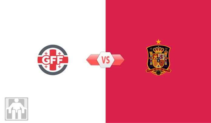 Prediksi Georgia vs Spanyol, Kualifikasi Piala Dunia 2022 Zona Eropa Grup B