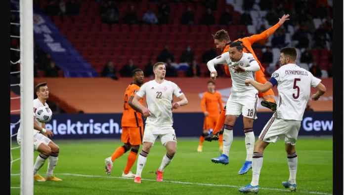Hasil Kualifikasi Piala Dunia: Latvia Jadi Sasaran Kemarahan Belanda