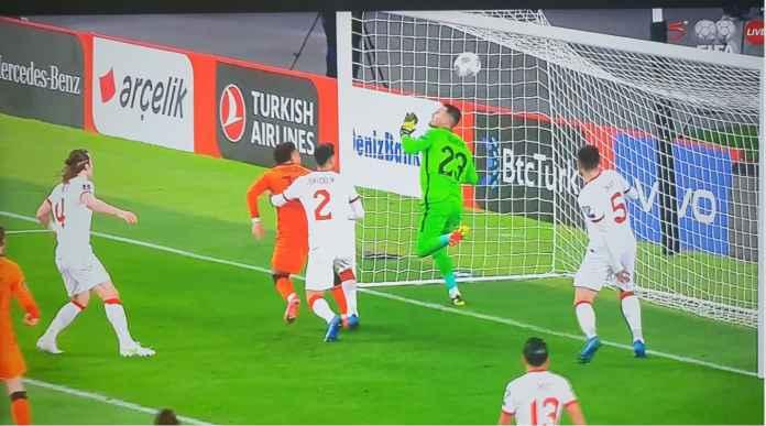 Gol Matthijs de Ligt, Turki vs Belanda