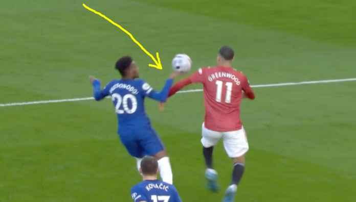 Chelsea Dominan Atas Man United Tapi Setan Merah Seharusnya Dapat Penalti Menit 15