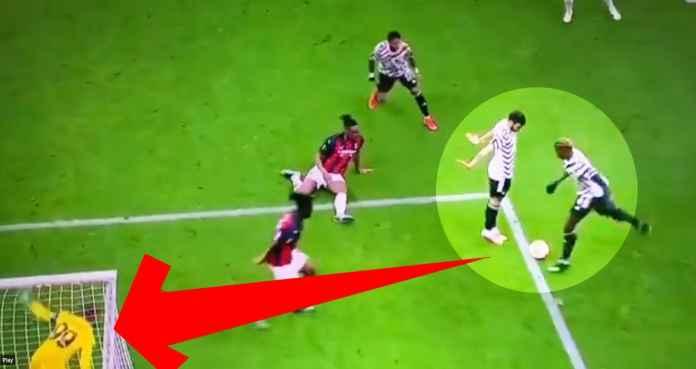 Hasil AC Milan vs Manchester United di Liga Europa Paul Pogba