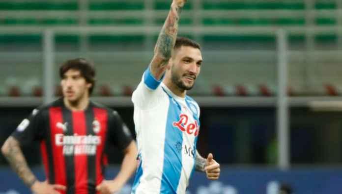 Hasil AC Milan vs Napoli di Liga Italia tadi malam