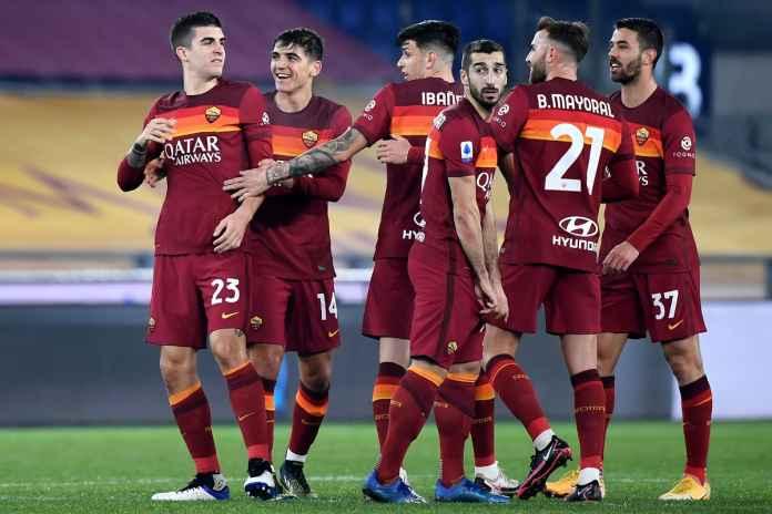 Hasil AS Roma vs Genoa, Gol Gianluca Mancini Bawa Roma Tembus Empat Besar