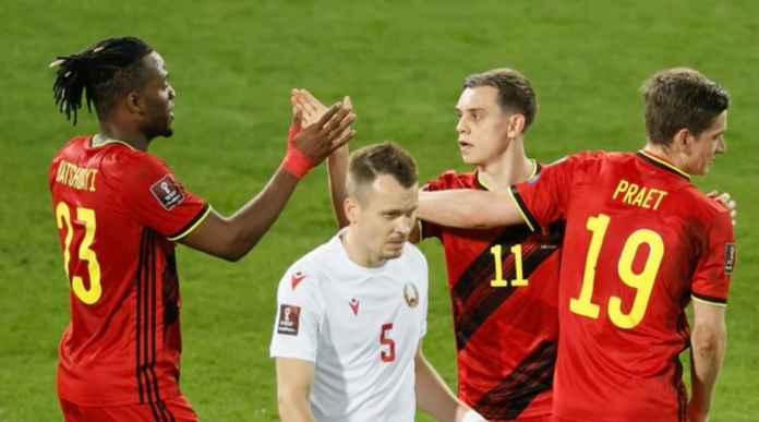 Hasil Belgia vs Belarusia di Kualifikasi Piala Dunia 2022