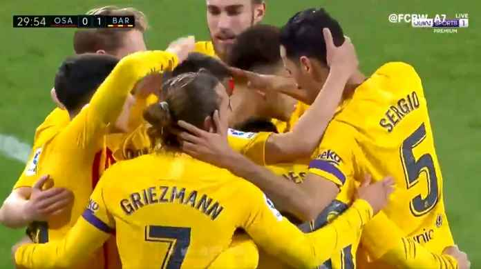 Hasil Bola Liga Spanyol, Skor Akhir Osasuna vs Barcelona - Berita Bola
