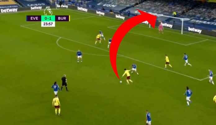 Hasil Everton vs Burnley di Liga Inggris tadi malam