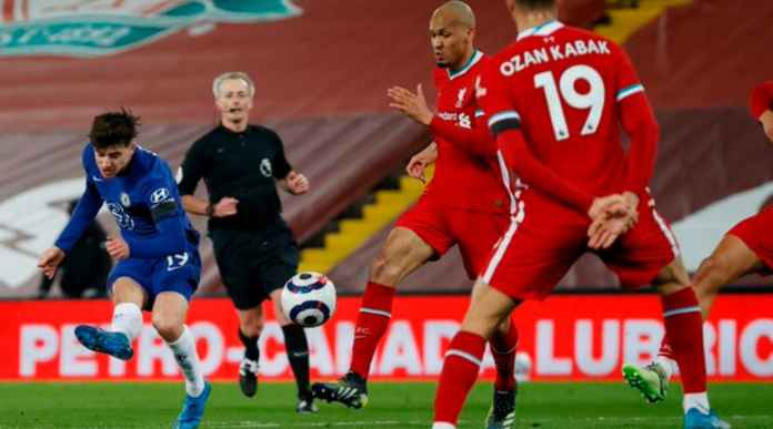 Hasil Liverpool vs Chelsea di Liga Inggris tadi malam
