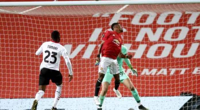 Hasil Manchester United vs AC Milan di Liga Europa - Gol Sundulan Amad Diallo