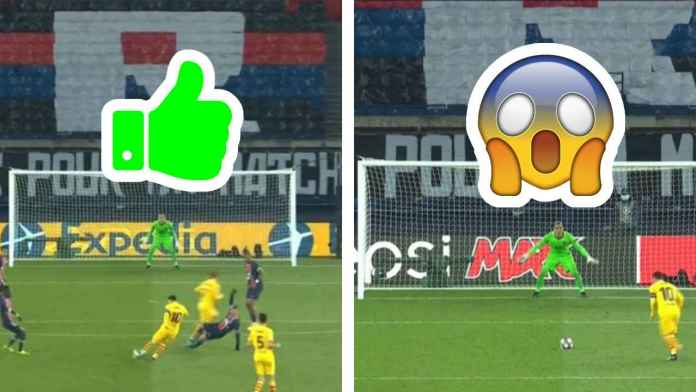 Hasil PSG vs Barcelona di Liga Champions Lionel Messi Gagal Penalti