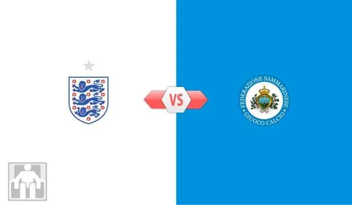 Prediksi Inggris vs San Marino, Kualifikasi Piala Dunia Dunia 2022 Zona Eropa Grup I