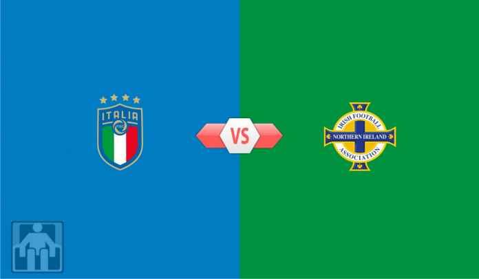Prediksi Italia vs Irlandia Utara, Kualifikasi Piala Dunia Dunia 2022 Zona Eropa Grup C