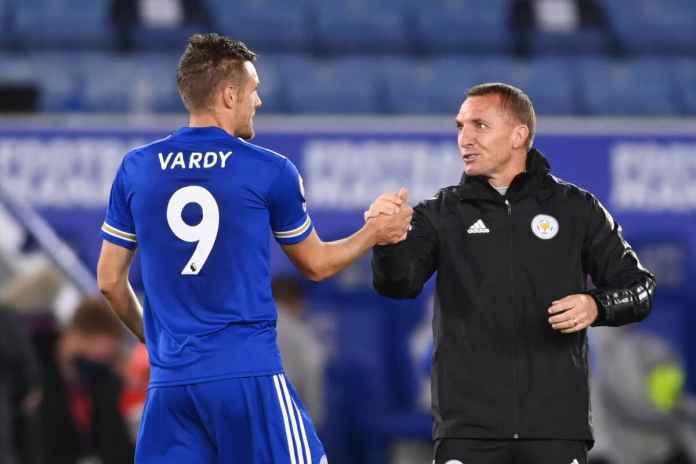 Jamie Vardy Berhasil Bikin Pelatih Leicester City Semringah