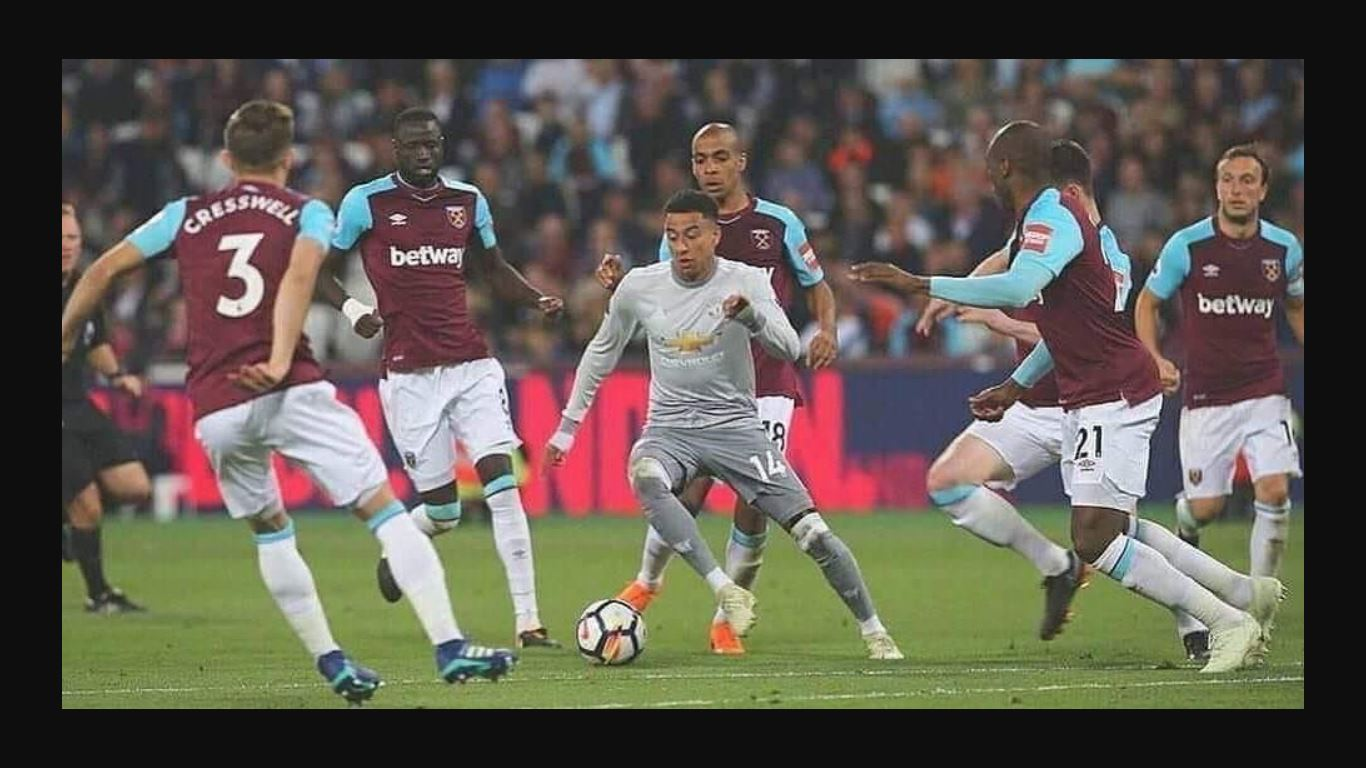 Jesse Lingard vs West Ham United