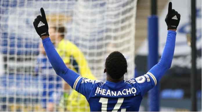 Kelechi Iheanacho versus Sheffield United, 14 Maret 2021