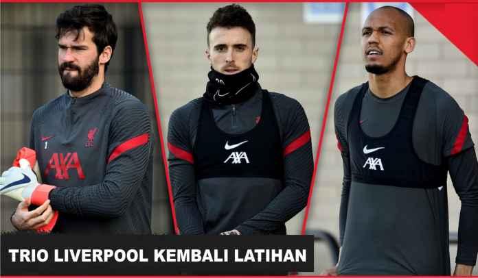 Chelsea Merinding Mendengarnya! Trio Pemain Utama Liverpool Sudah Mulai Berlatih