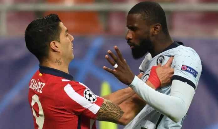 Luis Suarez Kontra Rudiger, Momen Tak Terlupakan Saat Chelsea Tandang ke Atletico