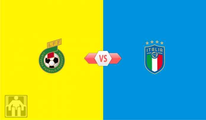 Prediksi Lituania vs Italia, Kualifikasi Piala Dunia 2022 Zona Eropa Grup C