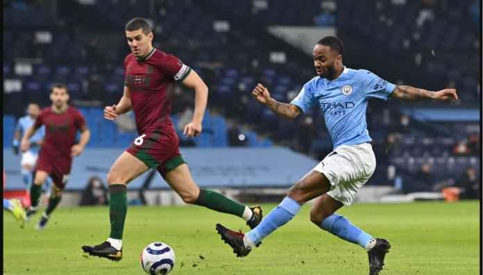 Posisi Serba Salah Bikin Manchester CIty Unggul Satu Gol Atas Wolves