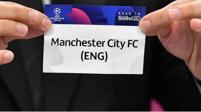 Manchester City, drawing Liga Champions