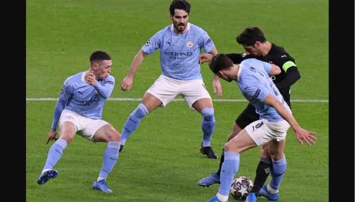 Man City versus Borussia Monchengladbach, Liga Champions