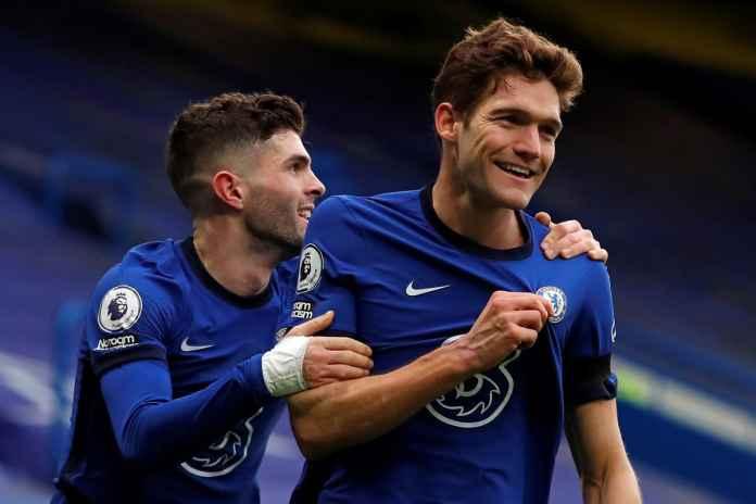 Marcos Alonso Ungkap Kebahagiaannya Kontra Everton