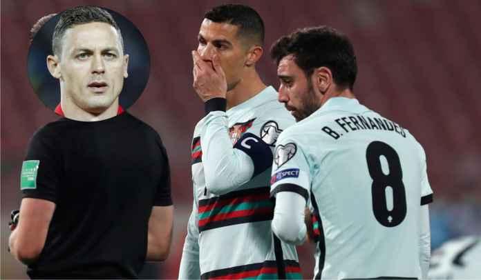 Matic Ledek Ronaldo & Fernandes Soal Gol Dianulir Portugal vs Serbia