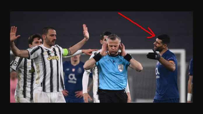 Mehdi taremi red card vs Juventus