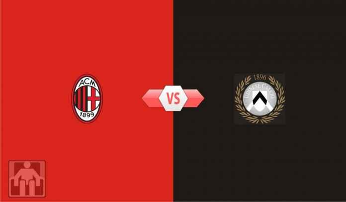 Prediksi AC Milan vs Udinese, Lanjutkan Kemenangan, Jaga Harapan Juara!