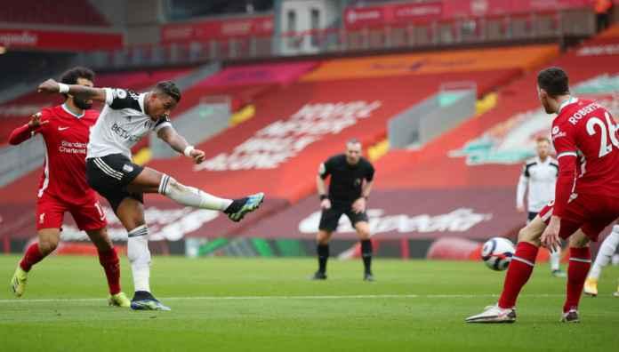 Salah Bikin Salah Penyebab Liverpool Kebobolan Satu Gol lawan Fulham Tadi Malam