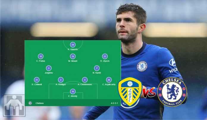 Demi Christian Pulisic, Thomas Tuchel Ubah Formasi Chelsea vs Leeds Malam Ini
