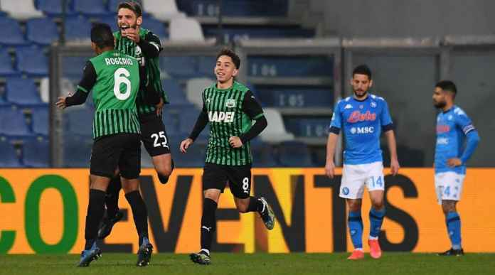 Hasil Liga Italia: Napoli Menang di Sassuolo Oleh Gol Penalti Menit Terakhir