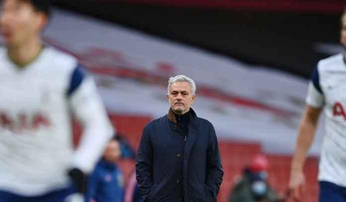 Jose Mourinho Tuduh Pemain Spurs Bersembunyi Usai Kekalahan Kontra Arsenal
