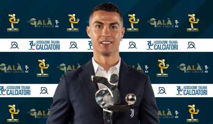Cristiano Ronaldo Menangi Penghargaan Pemain Terbaik Serie A Musim 2019/2020