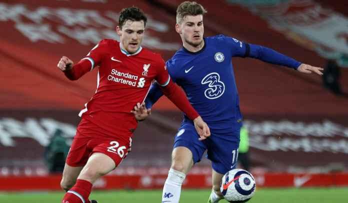 Andrew Robertson Akui Performa Liverpool Tak Cukup Baik Melawan Chelsea