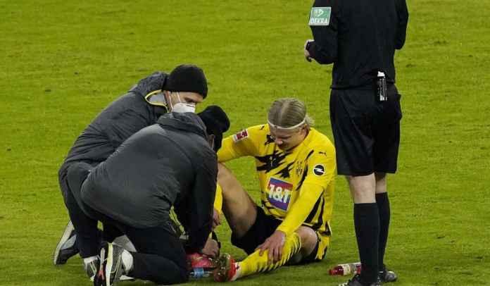 Cedera di Der Klassiker, Erling Haaland Siap Turun Kontra Sevilla di Liga Champions