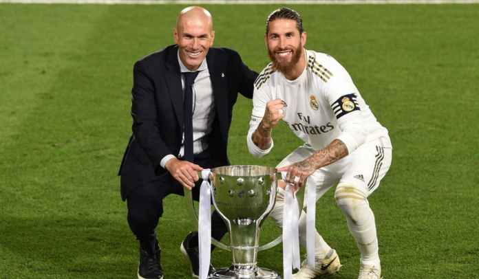 Zinedine Zidane Akui Buta Soal Masa Depan Sergio Ramos di Real Madrid
