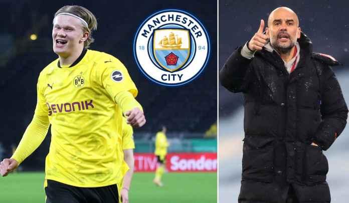 Manchester City vs Dortmund : Ajang Seleksi Kelayakan Transfer Erling Haaland