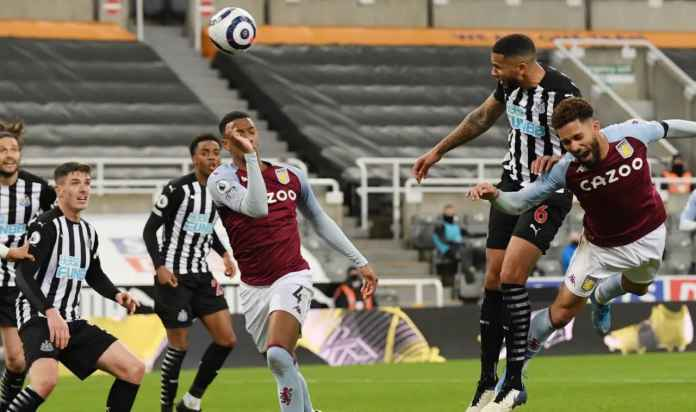 Hasil Liga Inggris : Dua Bek Newcastle Cetak Gol, Tapi Skor Imbang 1-1 vs Aston Villa