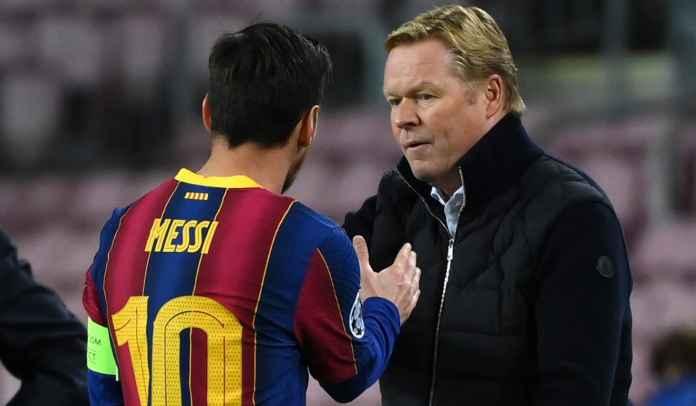 Lionel Messi Dua Gol, Ronald Koeman : Dia Sosok Terpenting Dalam Sejarah Barcelona