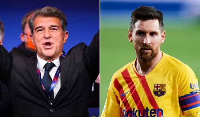 Lionel Messi Beri Ucapan Selamat Pada Joan Laporta, Kode Bertahan di Barcelona?