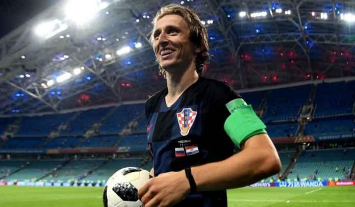 Luka Modric Catat Rekor Penampilan Tadi Malam, Tapi Kroasia Dikalahkan Slovenia