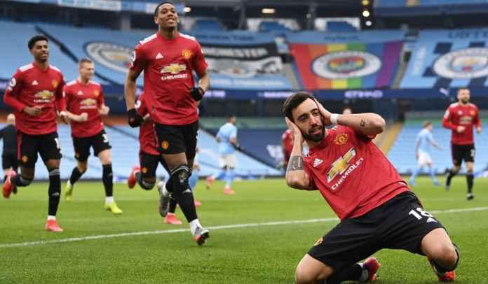 Bruno Fernandes Jelaskan Selebrasi Golnya Usai Kemenangan United Atas City