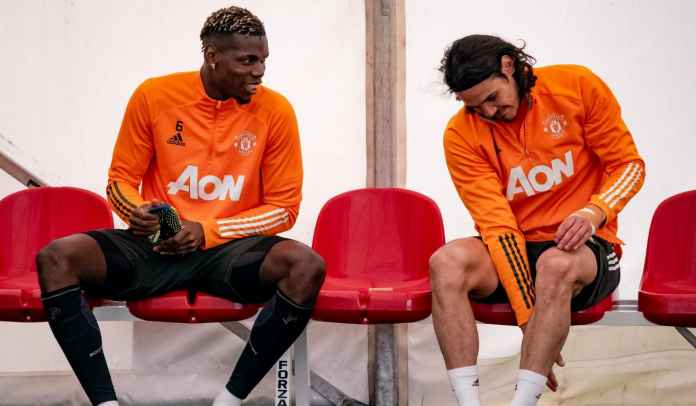 Edinson Cavani & Paul Pogba Sudah Mulai Latihan, Langsung Starter vs AC Milan?