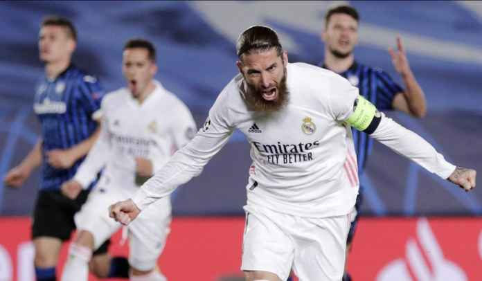 Sergio Ramos Bocorkan Rahasia Taktik Real Madrid Saat Kalahkan Atalanta